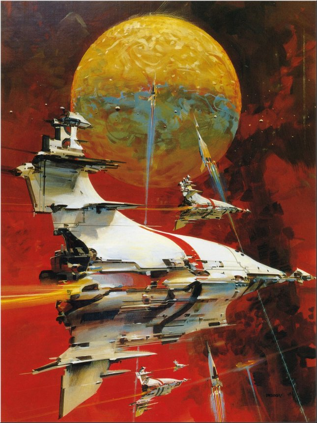 Art by John Berkey