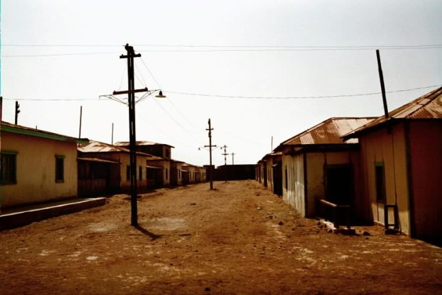 The familiar image of a ghost town is very apropos for today's topic.