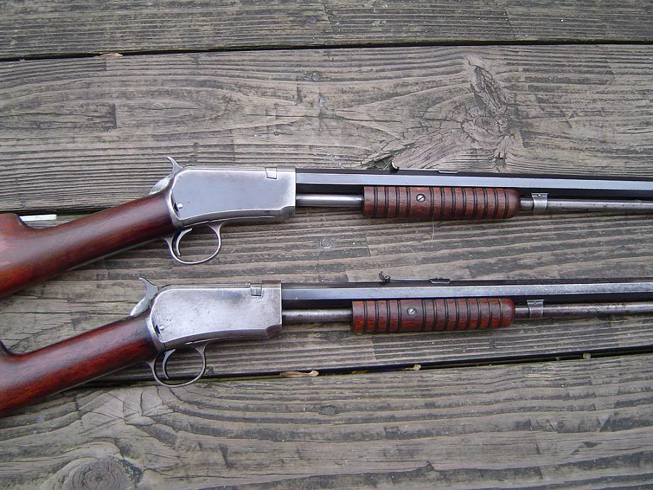 This is exactly the model we owned on the farm. an 1890 winchester 22