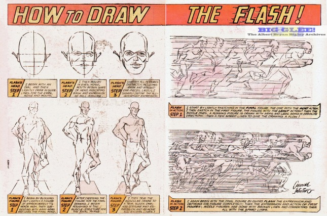 flash how to draw carmine infantino dc comics limited collector's edition tabloid pencils silver bronze age