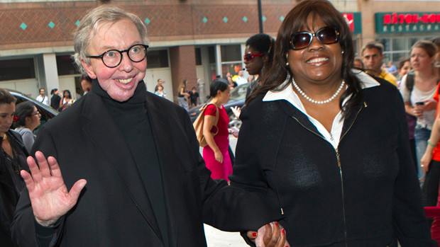 Roger Ebert with his wife, Chaz Ebert.