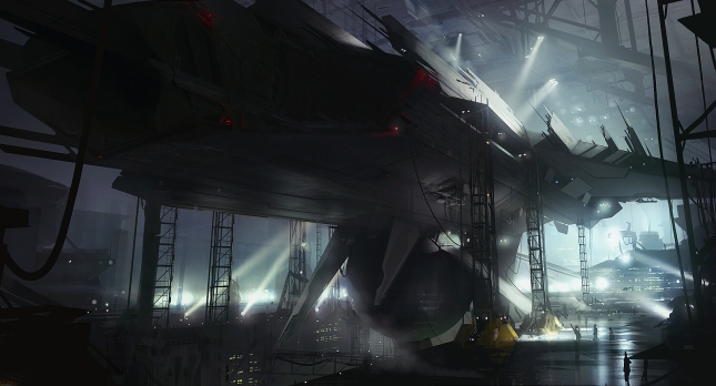 Starship factory by *AndreeWallin on deviantART