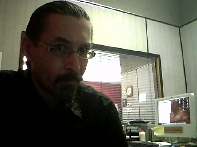Original image from my laptop's web cam.