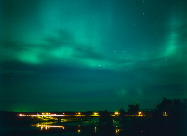 Aurora Borealis, St. Louis, Saskatchewan