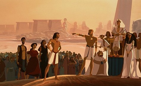 This is a screen capture from Dreamworks Prince of Egypt.  Which was a superior film than Exodus: Gods and Kings.
